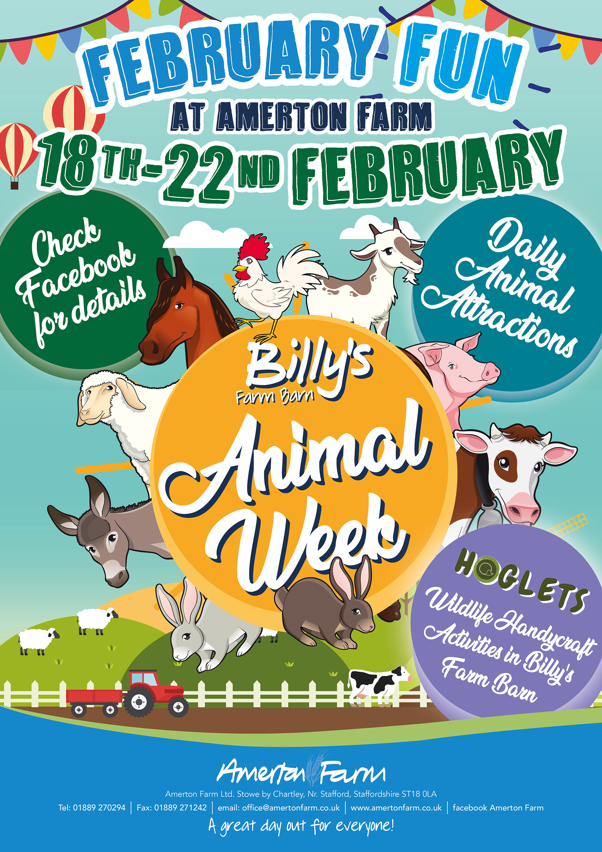 Amerton Farm - February Half Term